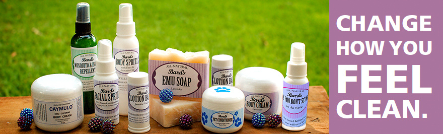 Emu Soap - Bard's, Livingston Texas